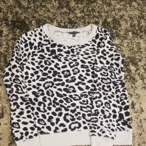 Victorias Secret leopard sweatshirt